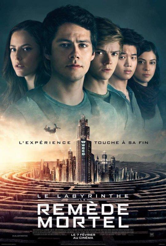 Poster et Bande annonce finale du film Le Labyrinthe - Le Remède Mortel.