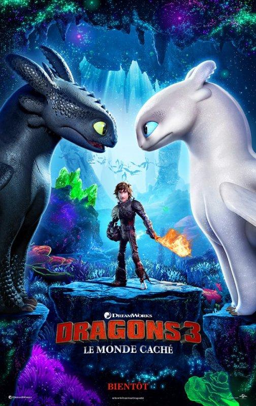 #Cinéma: Dragons 3 dévoilera sa bande annonce dans une semaine.