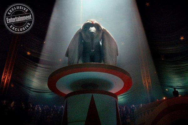 Dumbo de Walt Disney et réalisé par Tim Burton.
