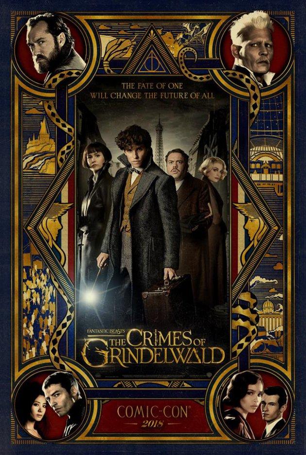 #Cinéma: Les Animaux Fantastiques Les Crimes de Grindelwald bande annonce finale.