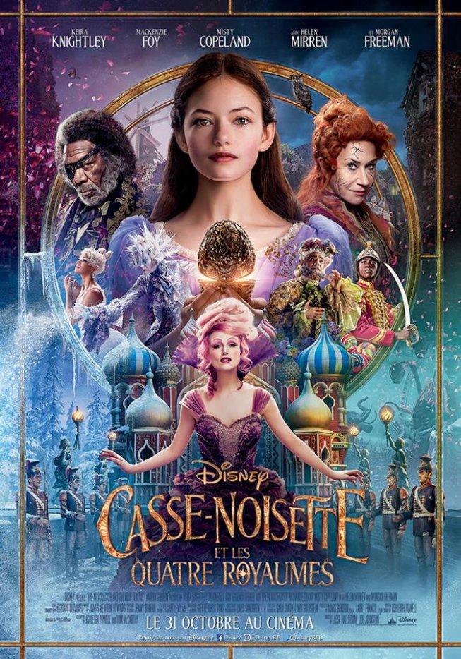 Casse-Noisette et les Quatre Royaumes de Disney nouveau poster et nouvelle bande annonce.