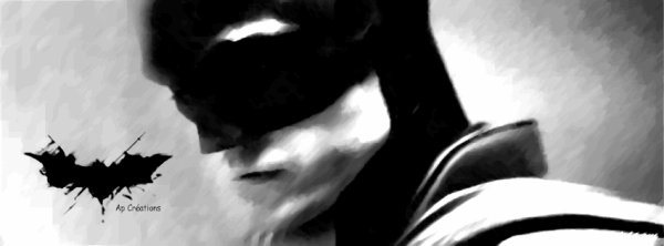 #CouvertureFB: The Batman by me.