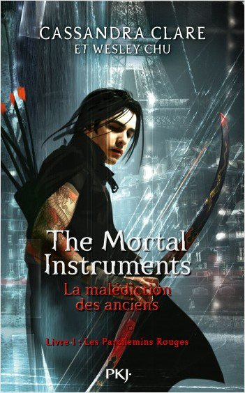 #Nouveauté: The Mortal Instruments la malédiction des anciens de Cassandra Clare.