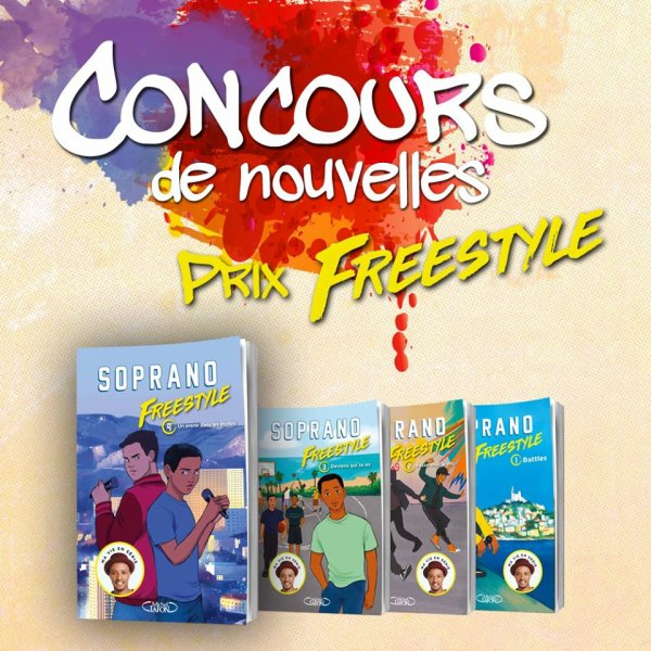 """Concours de nouvelles """"Prix Freestyle"""" chez les éditions Michel Lafon Jeunesse."""