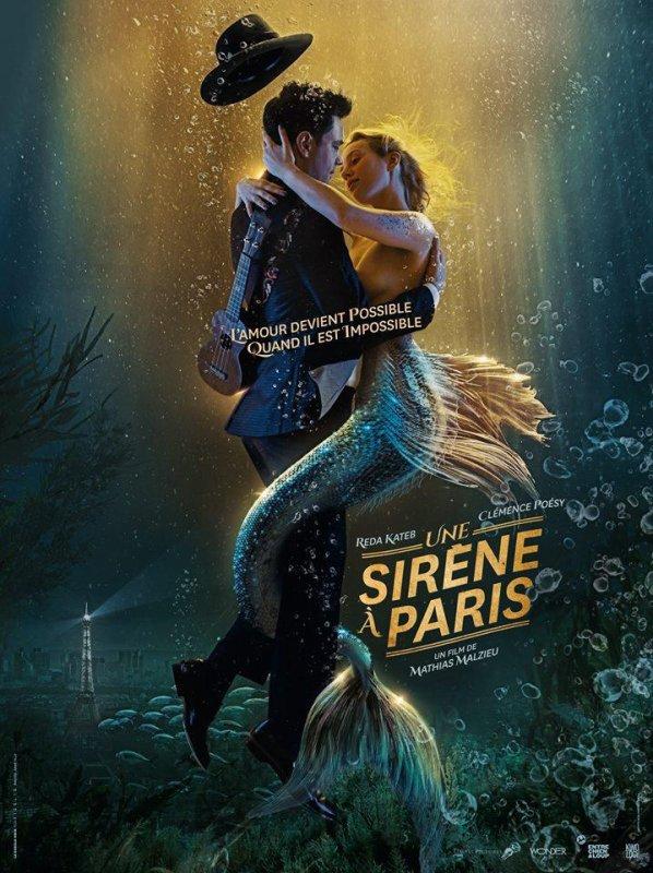 Une sirène à Paris de Mathias Malzieu le 11 mars au cinéma.