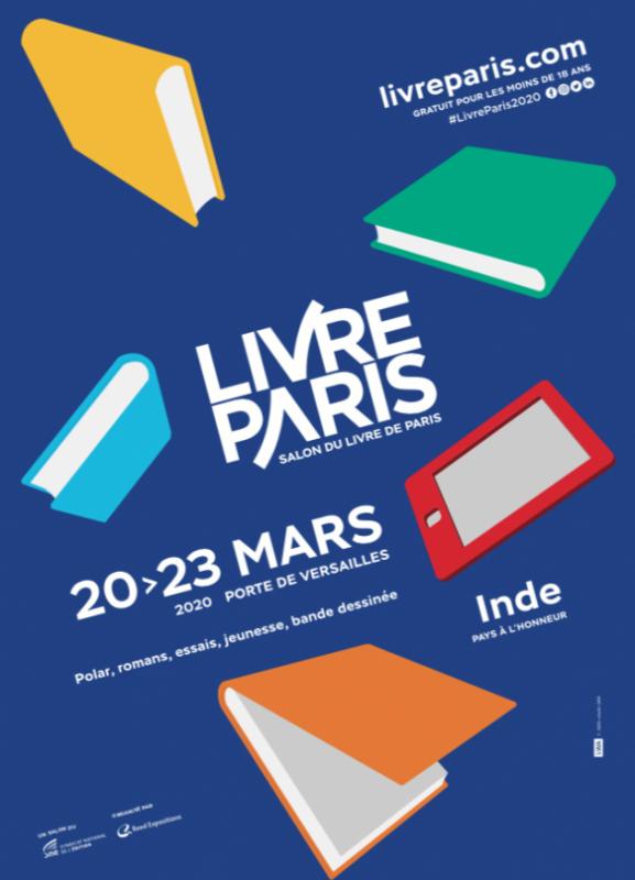 #LivreParis l'édition 2020 annulée à cause du Coronavirus.