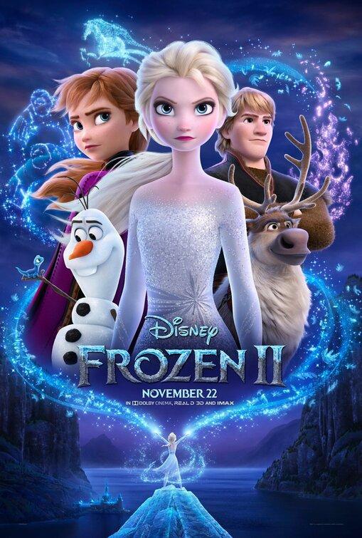 #Cinéma: J'ai vu La Reine Des Neiges 2 de Walt Disney