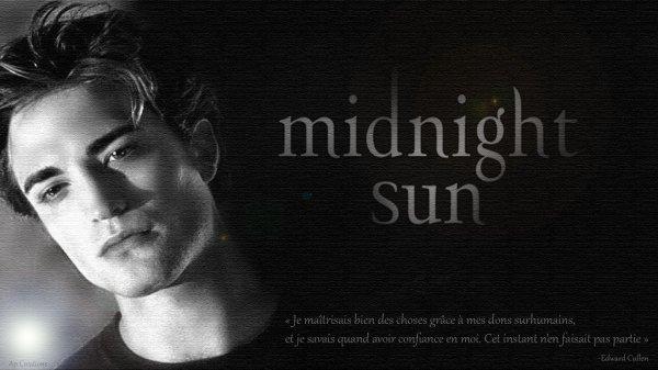 "#CréasPerso: Midnight Sun ""Edward Cullen"""