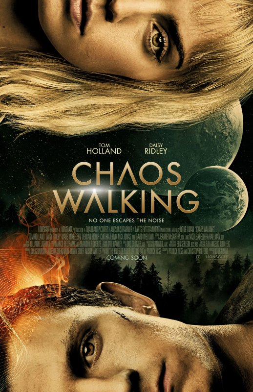 #Cinéma: Chaos Walking avec Tom Holland et Daisy Ridley le 03/02/21 au cinéma.