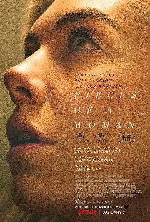 #Cinéma: Pieces Of A Woman de Martin Scorsese avec Vanessa Kirby &Shia LaBeouf le 07/01 sur Netflix
