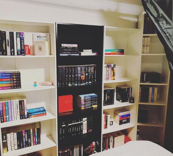 Mon coin bibliothèque