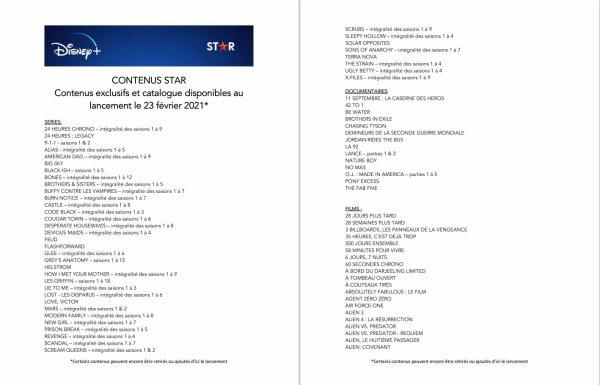 #Cinéma: Disney + nous présente sa nouvelle catégorie STAR qui sera accessible le 23/02