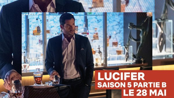 #Série: La saison 5B de Lucifer sera dispo le 28 mai sur Netflix !