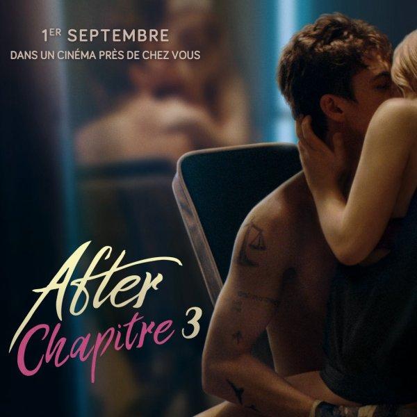 #Cinéma: After chapitre 3 le 01 septembre au cinéma ! (Belgique)