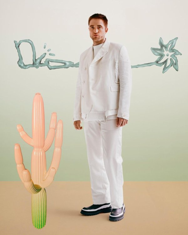 Nouvelle photo de Robert Pattinson pour la campagne Dior Men's été 2022
