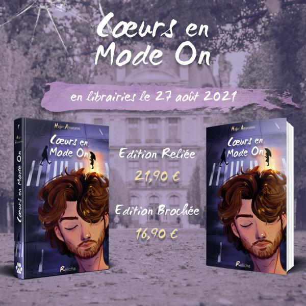 #Chronique: C½urs en Mode On de Hajar Amanzou Relicha Editions