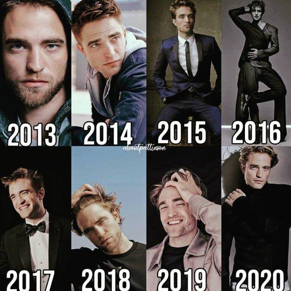 Qu'elle évolution pour Robert Pattinson
