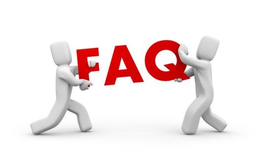 Réponse à ma F.A.Q (pas beaucoup de questions)