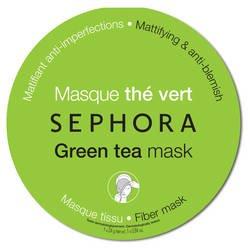 100 fans : Revue sur le masque en tissu de chez Sephora [Thé vert]