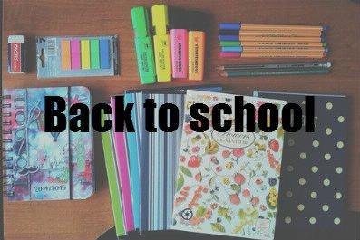 Get unready : Veille de la rentrée ! [Back To School #6]