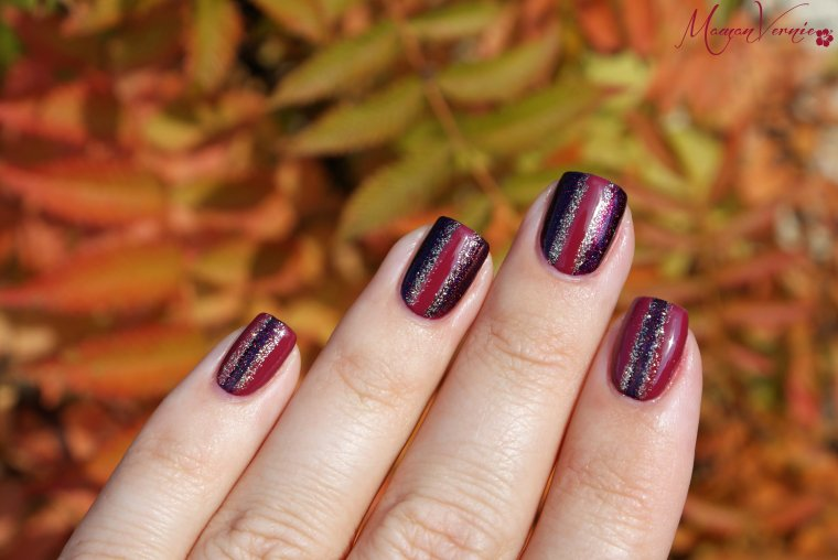 Idée de nails art pour l'automne !