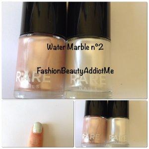 J'ai testé : Le water marble