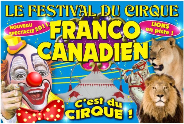 5428 - CIRQUE FRANCO-CANADIEN : C'EST DU CIRQUE !