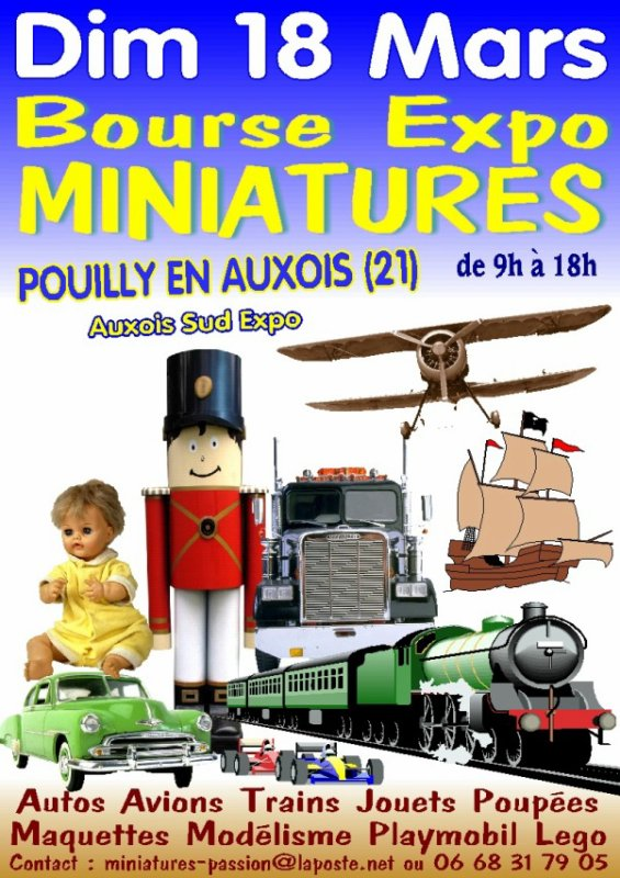 6428 - BOURSE  EXPO MINIATURES