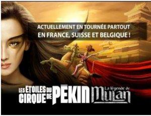 6433 - LES ETOILES DU CIRQUE DE PEKIN A BESANCON