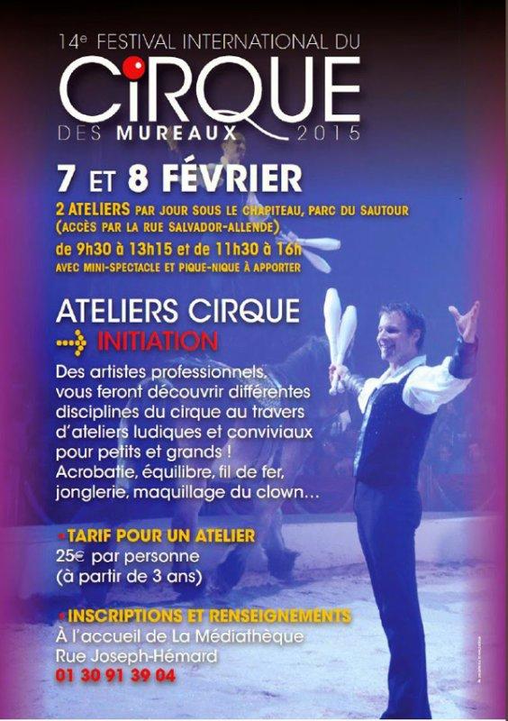 14ème FESTIVAL INTERNATIONAL DU CIRQUE DES MUREAUX