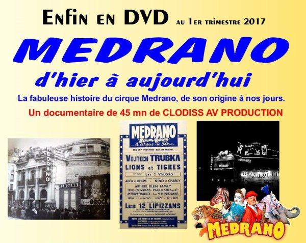 """LE DVD """"MEDRANO D'HIER À AUJOURD'HUI"""" EST ANNULÉ"""