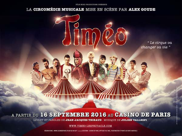 TIMEO AU CASINO DE PARIS