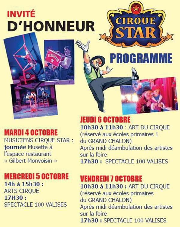 CIRQUE STAR À LA FOIRE DE CHALONS SUR SAÔNE.01