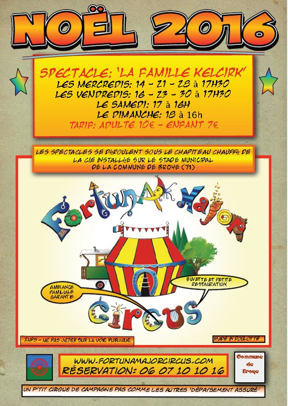THÉÂTRE CIRQUE FORTUNA MAJOR CIRCUS