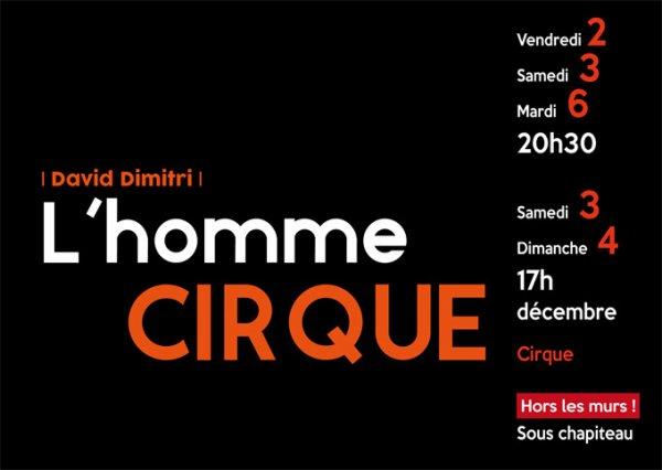DIMITRI L'HOMME CIRQUE : PRECISION.