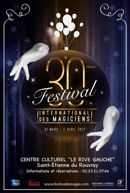 SAINT ETIENNE DU ROUVRAY : FESTIVAL DE MAGIE 2017