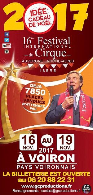 16ème FESTIVAL DU CIRQUE À VOIRON
