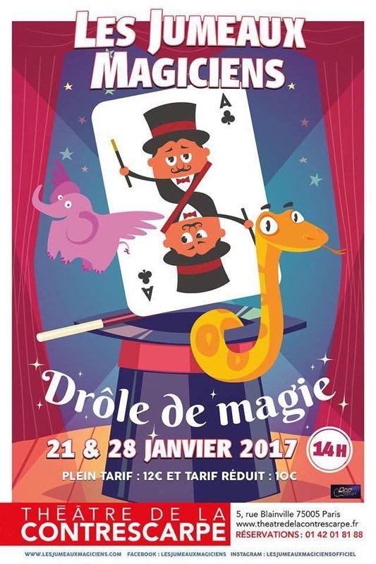 DROLE DE MAGIE - LES JUMEAUX MAGICIENS