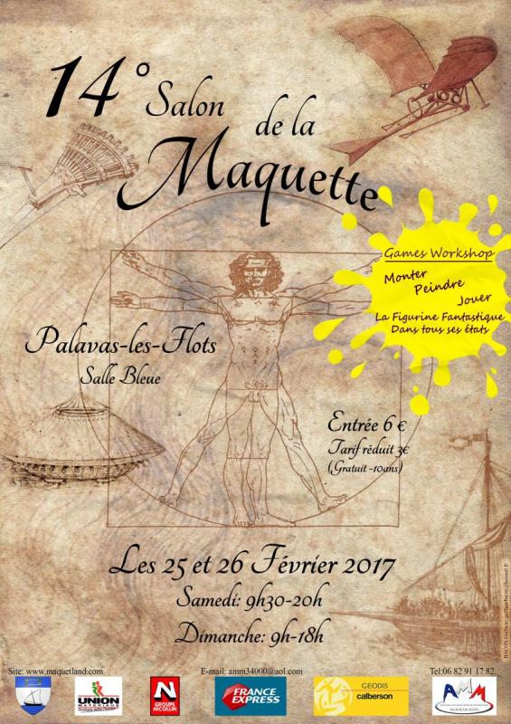 SALON DE LA MAQUETTE ET DE LA FIGURINE DE PALAVAS-LES-FLOTS