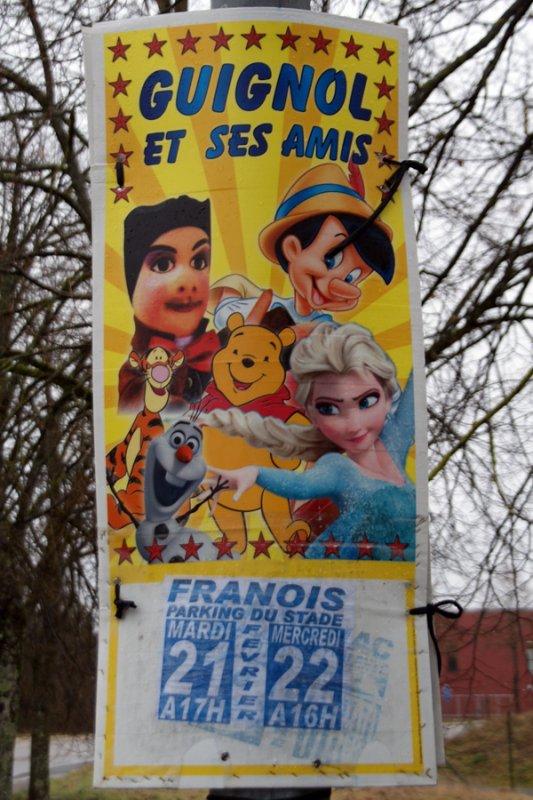 THÉÂTRE GUIGNOL À FRANOIS (Doubs)