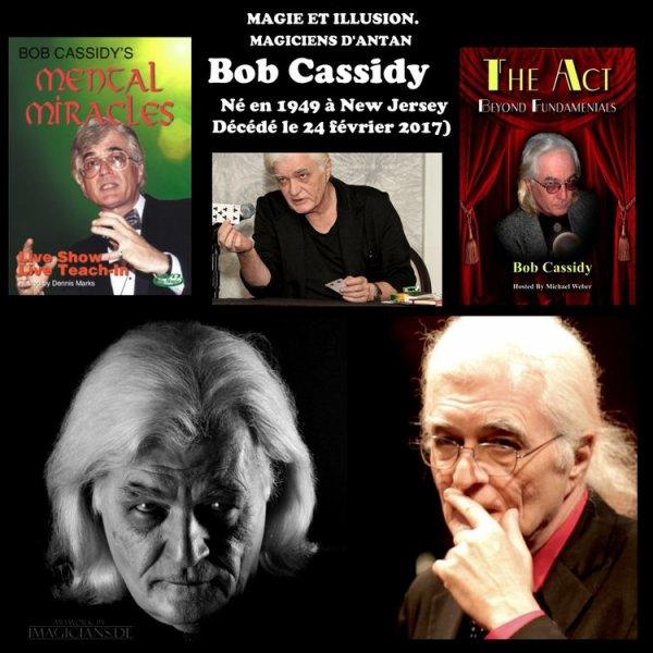 CARNET NOIR : BOB CASSIDY