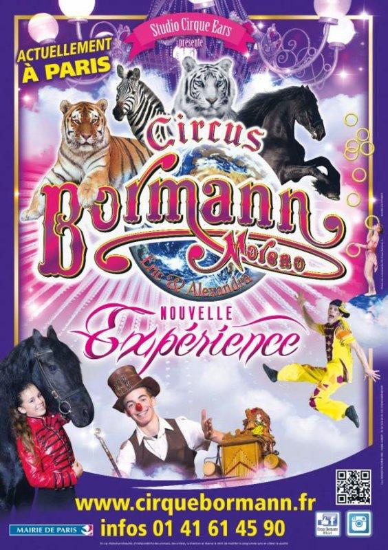 L'affiche du Cirque BORMANN.