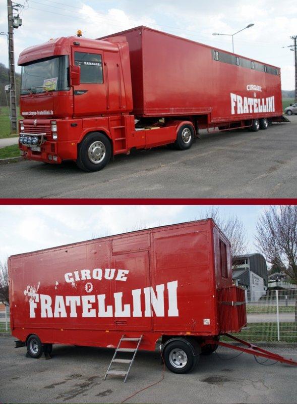 LE CIRQUE P. FRATELLINI À SAINT-VIT