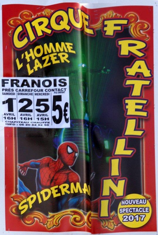 CIRQUE PASCAL FRATELLINI À FRANOIS
