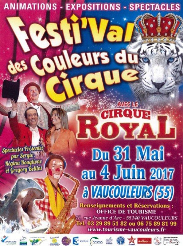 FESTI'VAL DES COULEURS DU CIRQUE
