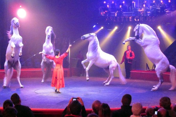 ARLETTE GRUSS À COLMAR : INSTANTS DU SPECTACLE (3)