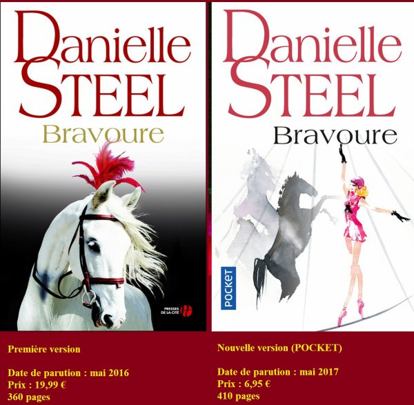 """BRAVOURE"" de  DANIELLE STEEL"