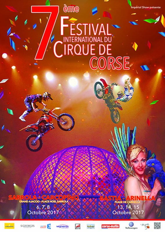 7ème FESTIVAL INTERNATIONAL DE CIRQUE DE CORSE