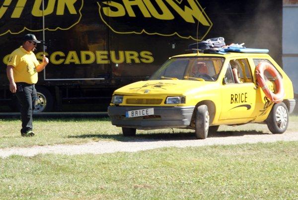 LE MOTOR SHOW CASCADEURS À SEURRE (21) 04