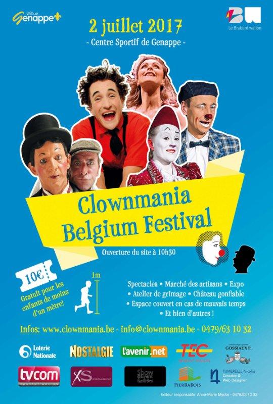 CLOWNMANIA BELGIUM FESTIVAL